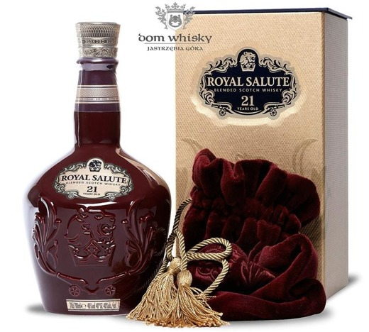 Chivas 21 letni Royal Salute Ruby Bordo / 40% / 0,7l