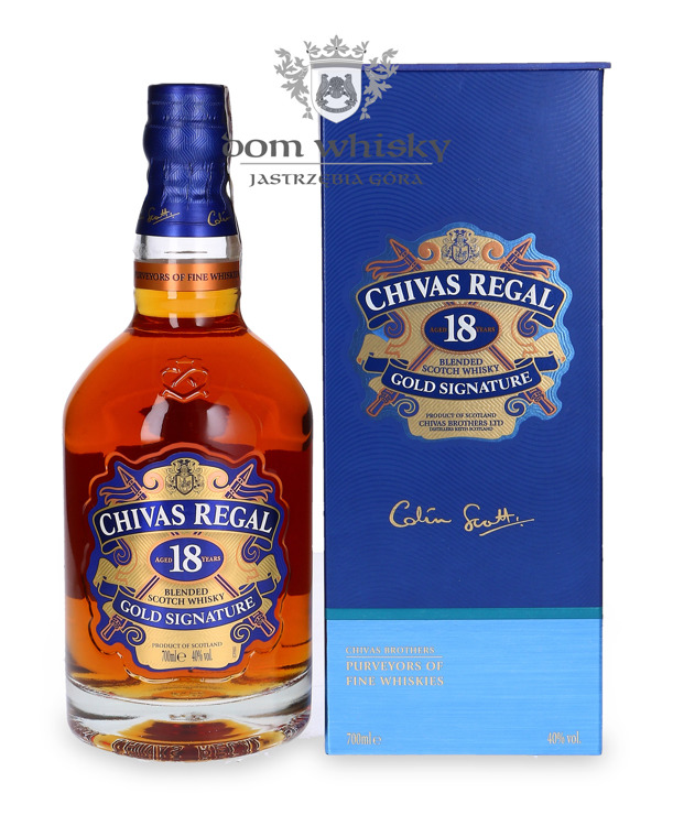 Chivas Regal 18-letni Gold Signature / 40% / 0,7l