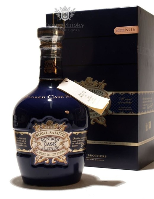 Chivas Royal Salute Hundred Cask Selection No 16 / 40% / 0,7l