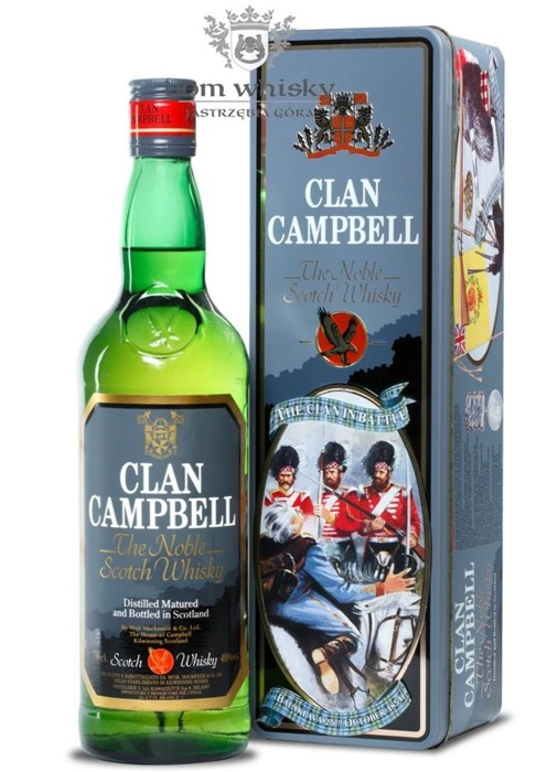 Clan Campbell Noble / Tin Box / 40% / 0,7l