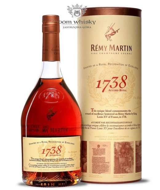 Cognac Remy Martin 1738 Accord Royal / 40% / 0,7l