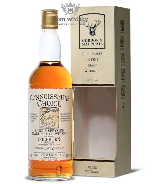 Coleburn 1972 (Bottled 1989) Connoisseurs Choice 40%/ 0,75l