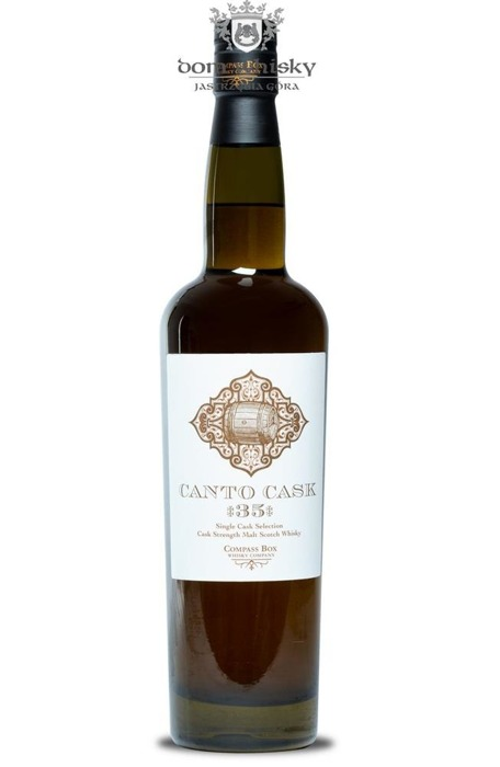 Compass Box CANTO CASK 35 Single Cask / 54,4% / 0,7l