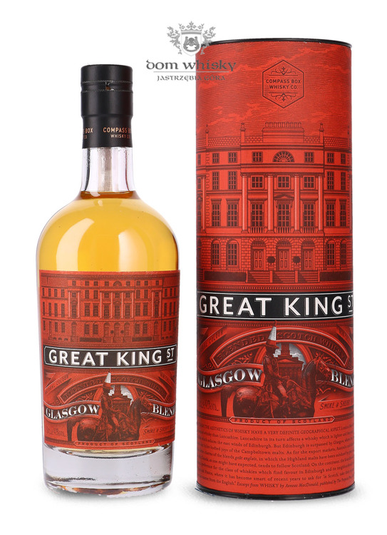 CCompass Box Great King Street Glasgow Blend / 43%/ 0,5l