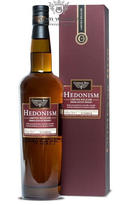 Compass Box Hedonism Limited Release (Bottling H39MMXB) / 43%/ 0,7l