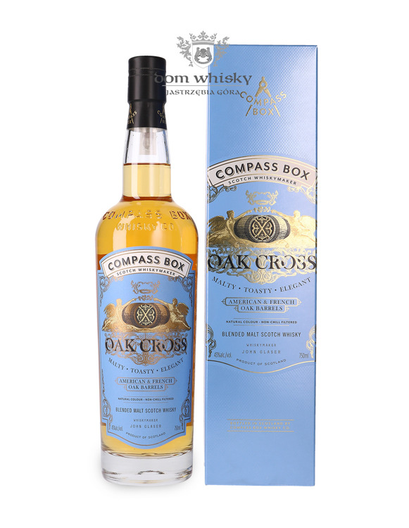 Compass Box Oak Cross Blended Malt / 43%/ 0,75l