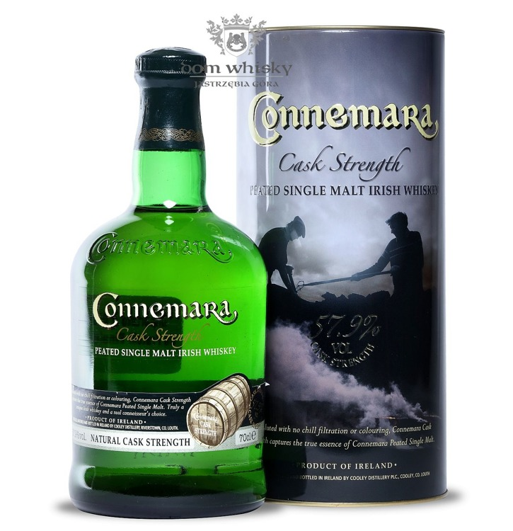 Connemara Cask Strength Peated / 57,9% / 0,7l