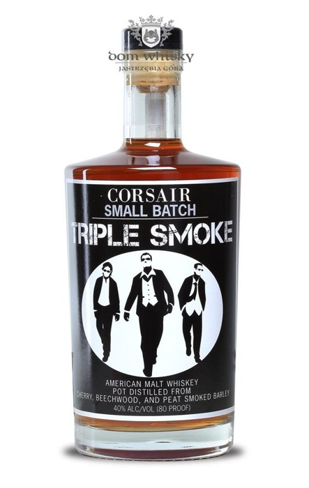 Corsair Small Batch Triple Smoke / 40% / 0,75l