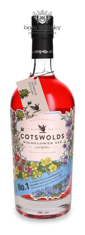Cotswolds Wildflower Gin No.1 / 41,7% / 0,7l