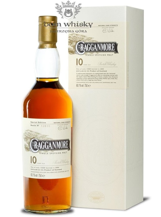 Cragganmore 10-letni Sherry Matured D.1993 B.2004/60,1%/0,7l