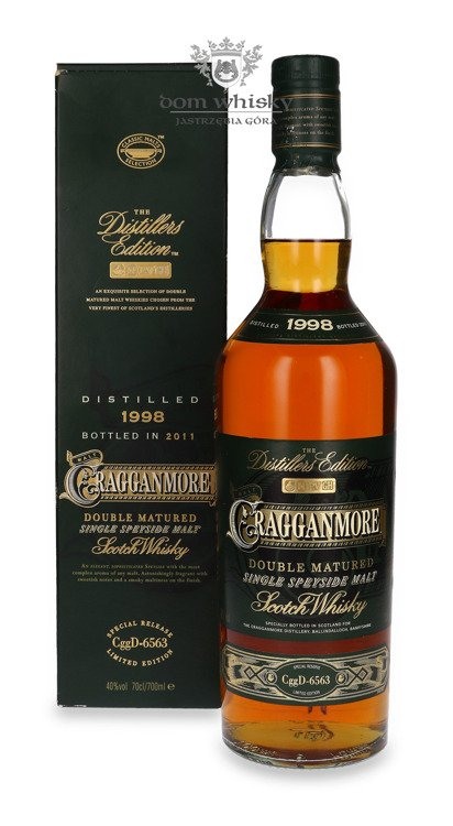 Cragganmore 1998(B.2011)Distillers Edition, Port Finish/40%/0,7l