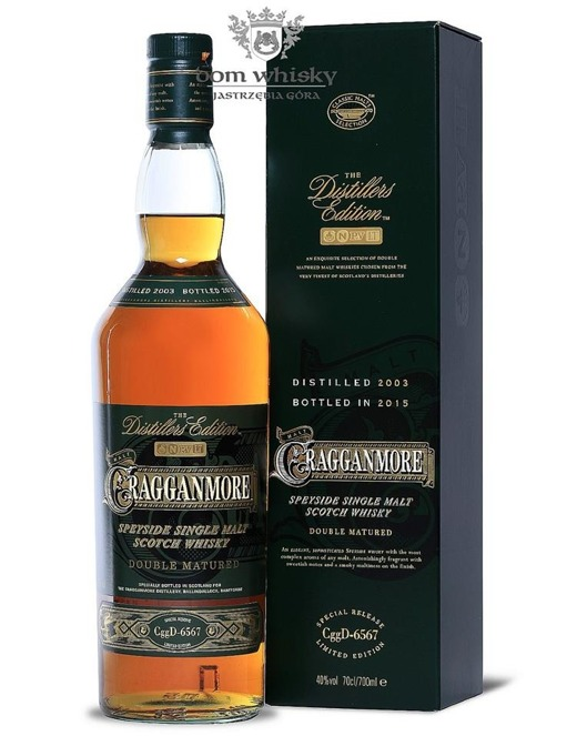Cragganmore 2003 (Bottled 2015) Distillers Edition /40%/0,7l