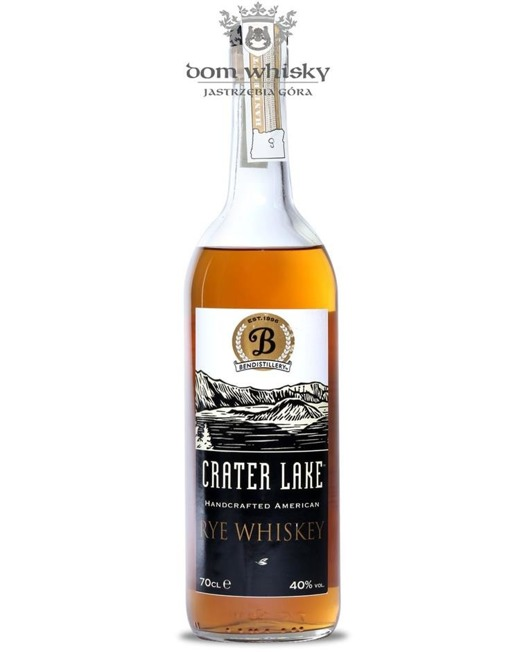 Crater Lake Rye Whiskey / 40% / 0,7l