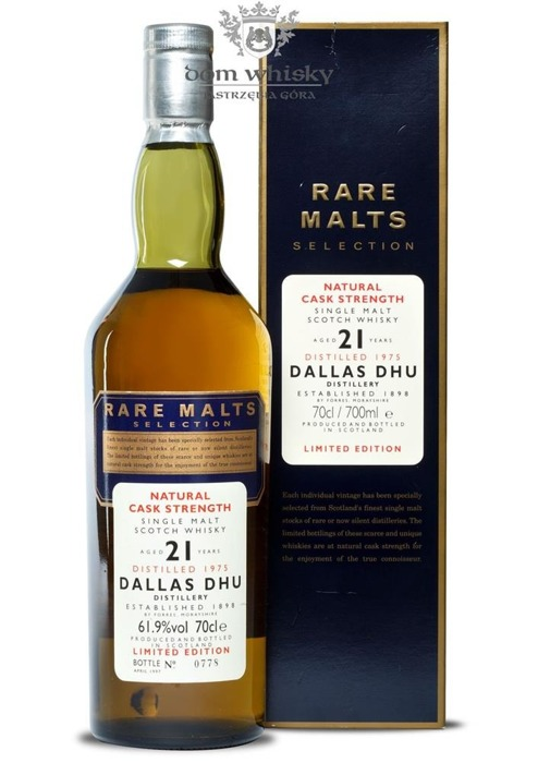 Dallas Dhu 21-letni (D.1975, B.1997) Rare Malts / 61,9% /0,7l
