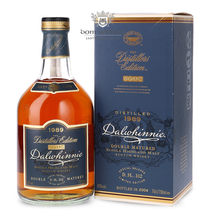 Dalwhinnie 1989 (Bottled 2004) Distillers Edition / 43%/ 0,7l