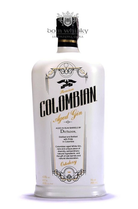 Dictador Ortodoxy Colombian Aged Gin /43%/0,7l