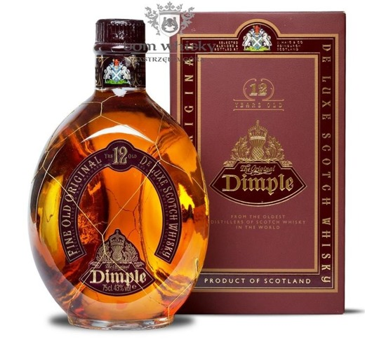 Dimple 12 letni Old Bottle / 43% / 0,75l