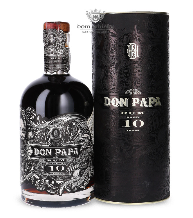 Don Papa Rum Philipines, 10-letni / 43% / 0,7l