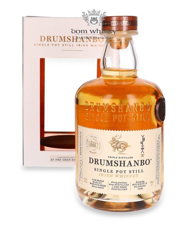 Drumshanbo Single Pot Still Irish Whiskey / 43% / 0,7l