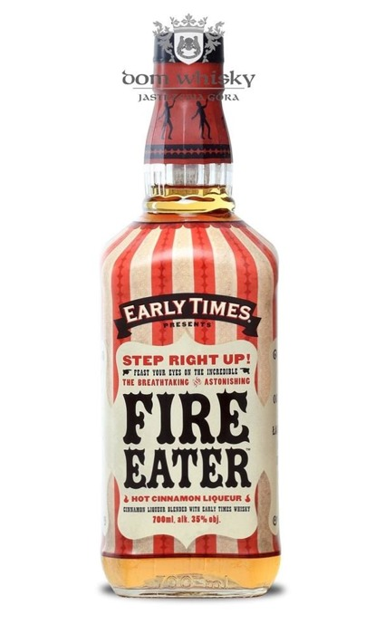 Early Times Fire Eater Cinnamon Liqueur / 35% / 0,7l
