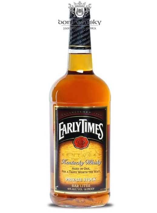 Early Times Kentucky Whisky / 40% /1,0l
