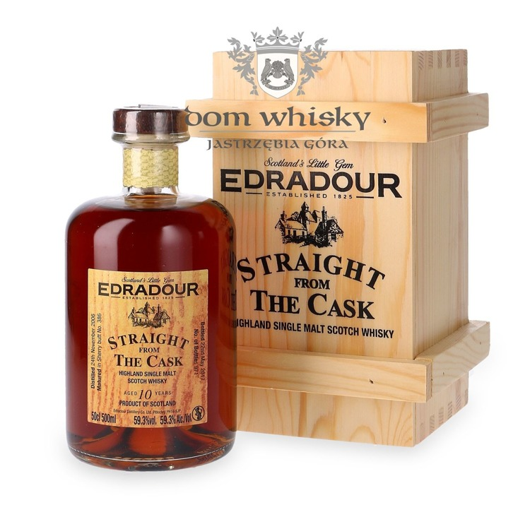 Edradour 2006, 10-letni Straight from the Cask (Sherry) / 59,3% / 0,5l