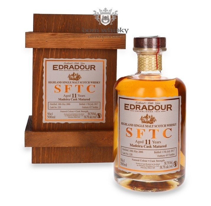 Edradour 2006, 11-letni Straight from the Cask (Madeira) / 58,7% / 0,5l