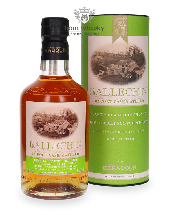 Edradour Ballechin # 3 Port Cask Matured / 46% / 0,7l