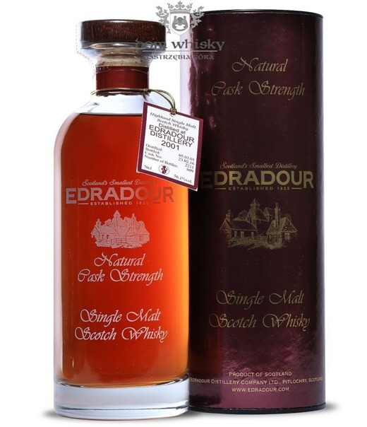 Edradour Natural Cask Strength (D.2001, B.2016) / 56,1%/ 0,7l