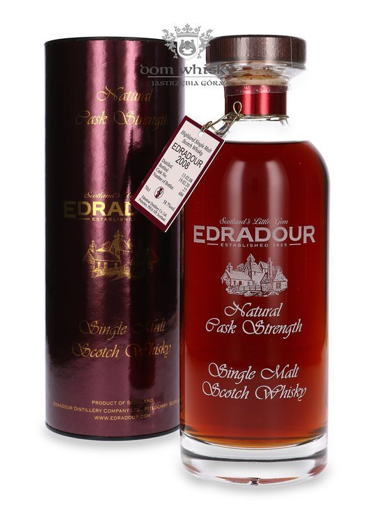 Edradour Natural Cask Strength (D.2008, B.2020) Ibisco Decanter /58,7%/ 0,7l