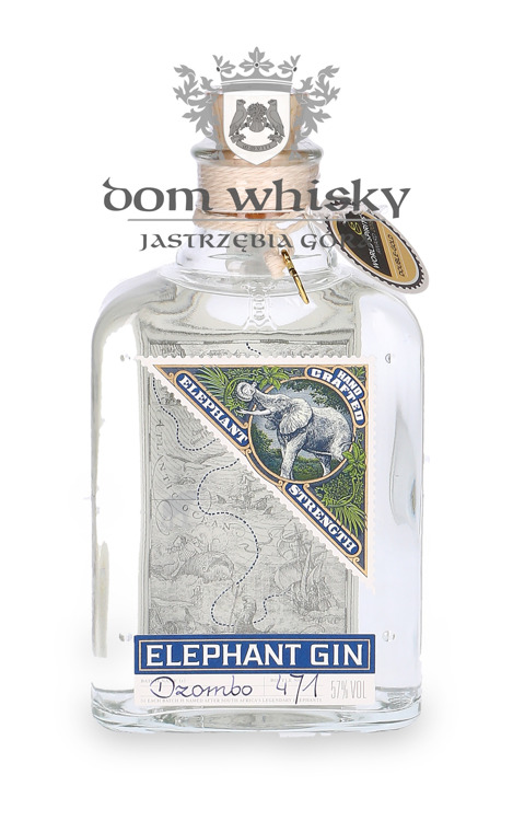 Elephant Gin Strength / 57% / 0,5l