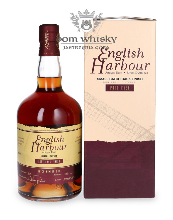 English Harbour Port Cask Finish Small Batch Antigua Rum /46% / 0,7l