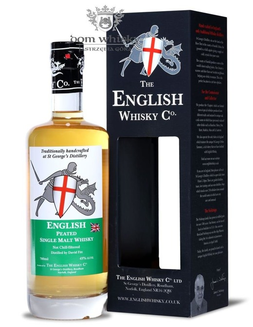 English Whisky CO. Peated Single Malt / 43% / 0,7l