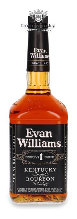Evan Williams Kentucky Black Label / 43% / 1,0l