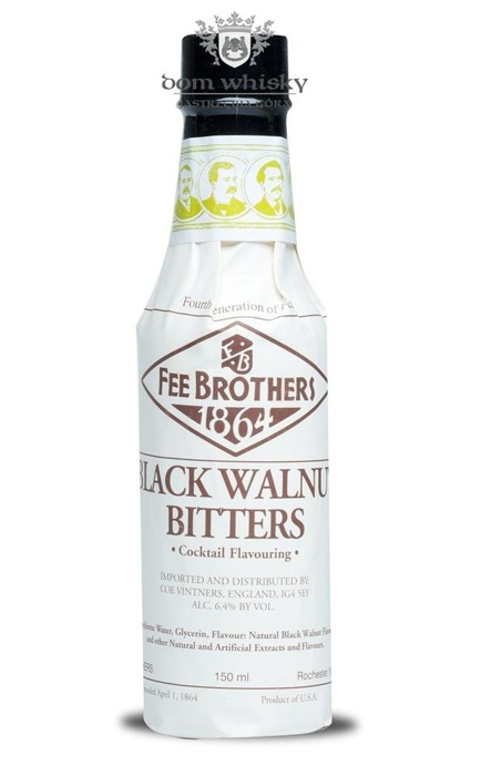 Fee Brothers Black Walnut Bitters / 6,40% / 0,15l