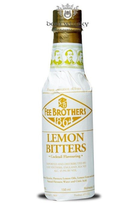 Fee Brothers Lemon Bitters / 45,90% / 0,15l