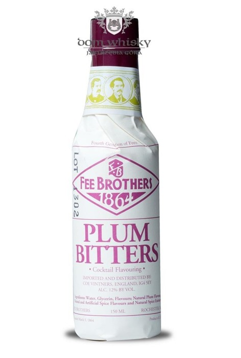 Fee Brothers Plum Bitters / 12% / 0,15l