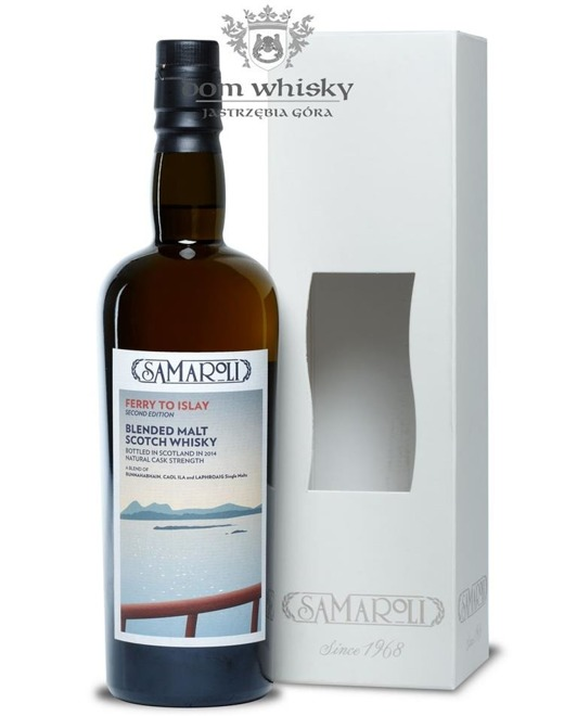 Ferry to Islay 2nd Edition, Samaroli / 55,1% / 0,7l