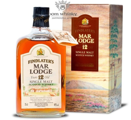 Findlater's Mar Lodge 12-letni / 43% / 0,75l
