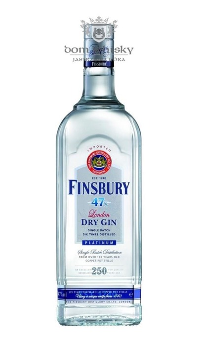 Finsbury 47 London Dry Gin Platinum / 47% / 1,0l