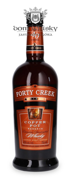 Forty Creek Copper Pot Reserve Canadian Whisky / 43% / 0,75l