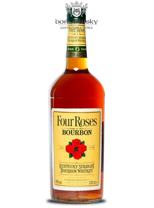 Four Roses 6-letni,  Yellow Label Bourbon Whiskey / 40% / 1,0