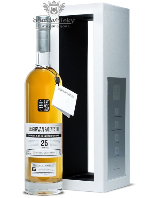 Girvan 25 letni Patent Still Single Grain / 42% / 0,7l