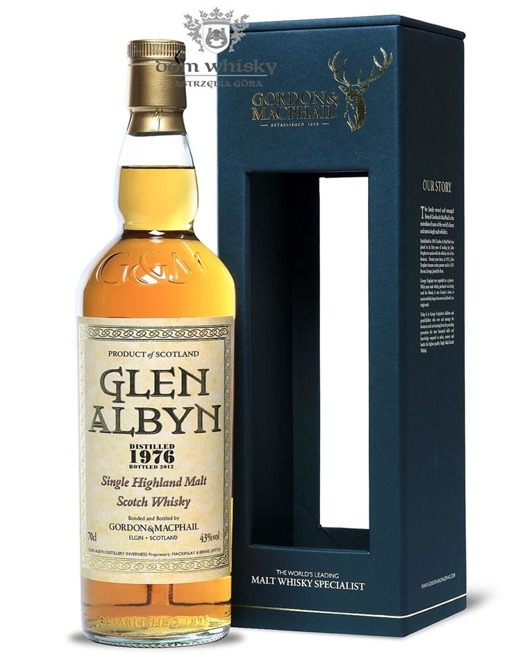 Glen Albyn 1976 (Bottled 2012) Rare Vintage, Gordon & MacPhail / 43%/ 0,7l