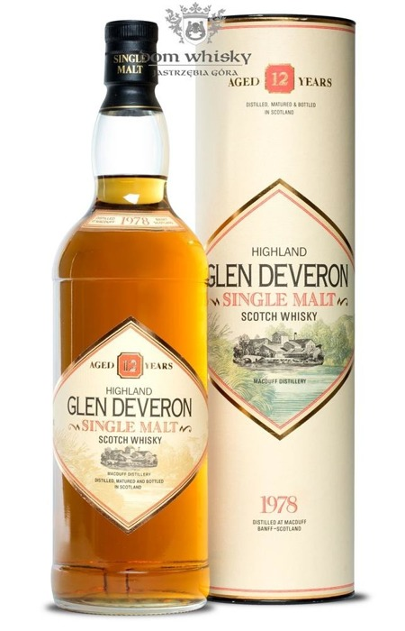 Glen Deveron 12-letni (Distilled 1978) / 43% / 1,0l