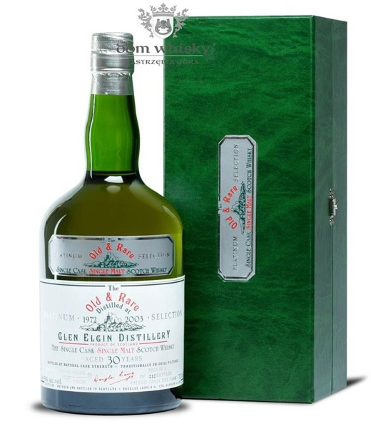 Glen Elgin 30 letni D.1972 B.2003 Old & Rare Platinum/48,9%/0,7l