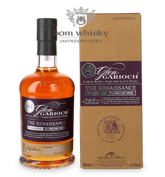 Glen Garioch 16-letni, The Renaissance(2nd Chapter)/51,4%/0,7l