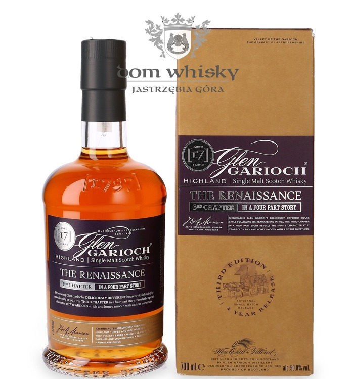Glen Garioch 17-letni, The Renaissance(3rd Chapter)/50,8%/0,7l