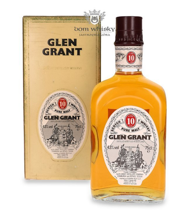 Glen Grant 10-letni (Decorative Box) / 43% / 0,75l