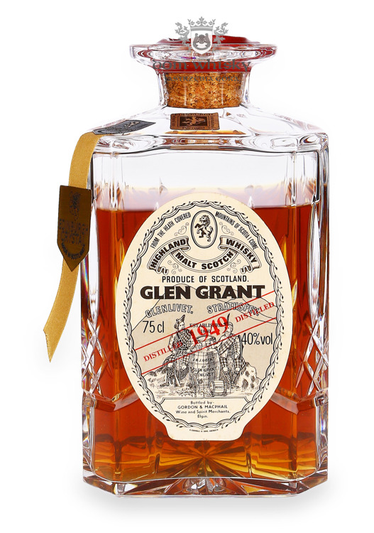 Glen Grant 1949, G&M Crystal Decanter / 40% / 0,75l